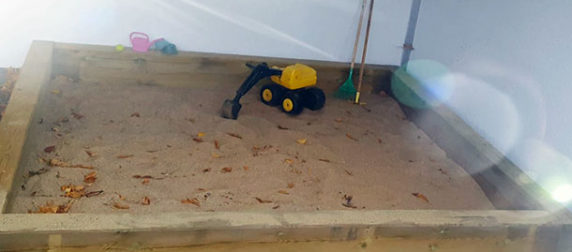 Sandkastenerfahrung
